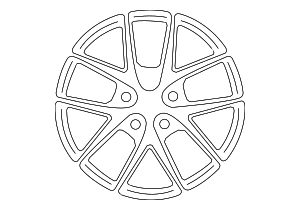 Wheel, Alloy - Subaru (28111VA330)