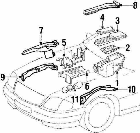 Electrical Components For 1997 Mercedes Benz Sl 600
