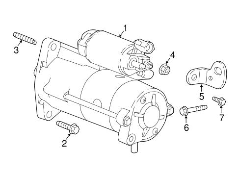 Oem 2016 Chevrolet Cruze Starter Parts