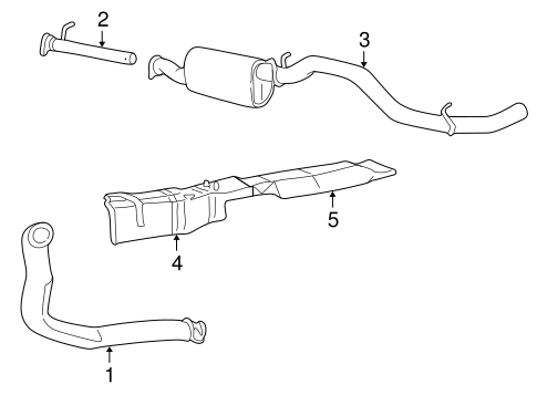 Ford Exhaust System Parts
