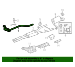 Catalytic Converter - Jaguar (C2Z27676)
