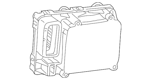 2001 Chrysler Pt Cruiser Control Module 5017847ac