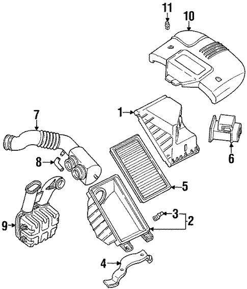 Powertrain Control For 1992 Subaru Svx