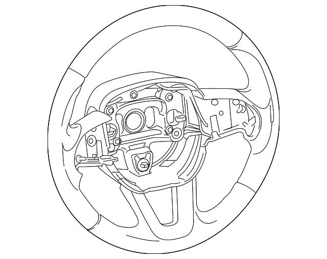 2014 2019 Dodge Durango Steering Wheel 5rb86ysaaa