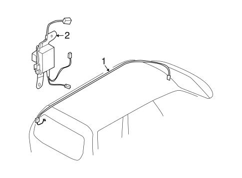 Subaru Engine Spark Plugs