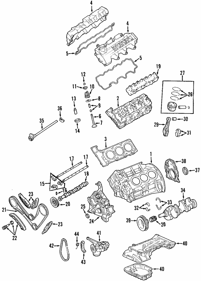 Cylinder Head - Mercedes-Benz (112-010-29-20)