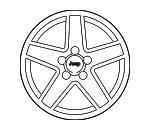Wheel Kit - Wheel, Aluminum