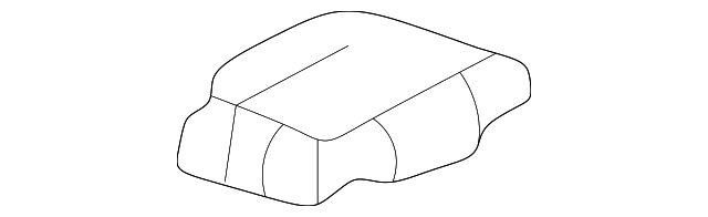 Honda Genuine 81596-S80-A50ZC Seat Foot Cover