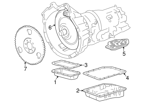 Transmission Components For 1996 Bmw Z3