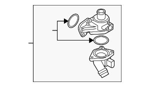 Thermostat Unit - Audi (06D-121-111-G)