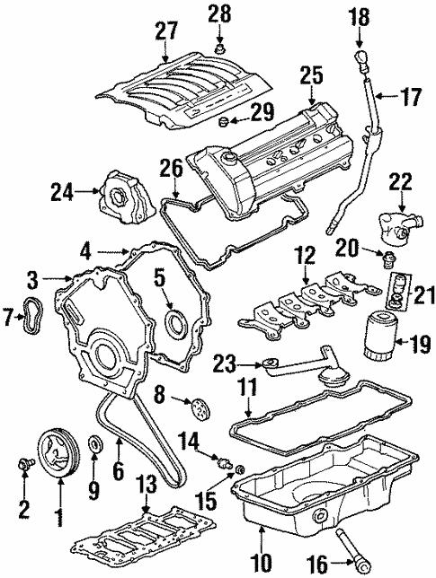 2001 Oldsmobile Aurora 4 0 Engine Diagram