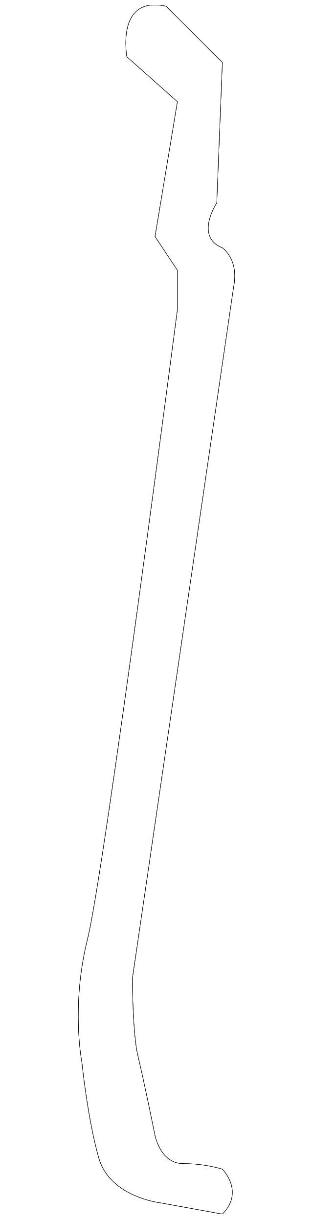 Rear Door-Handle GM OEM Lock Outside Rod Left 15831547
