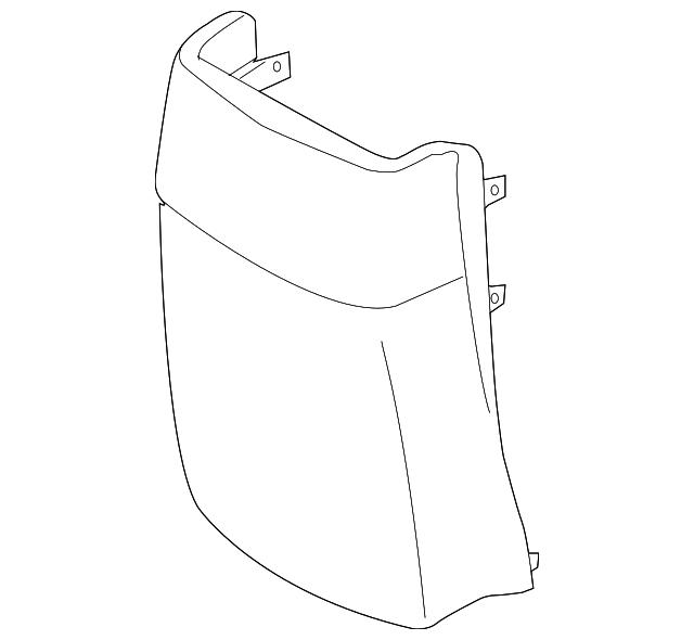 Rear Genuine Hyundai 84680-3K500-V2 Console Cover Assembly