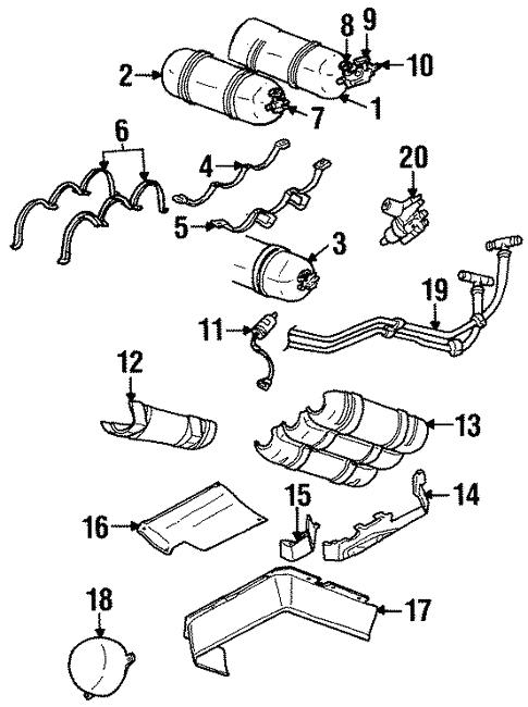 Fuel System Components For 1996 Dodge Grand Caravan