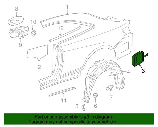 Pressure vent mercedes benz 2229050142 mb oem parts for Mercedes benz oem replacement parts