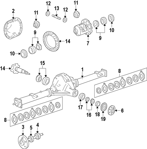 differential for 2013 ford f