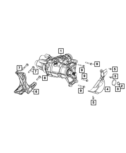 Power Transfer Unit Assembly for 2015 Jeep Renegade #2