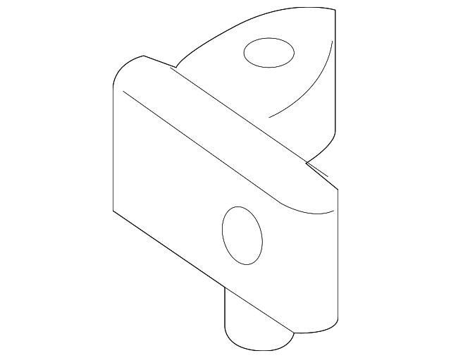 2015 2018 Audi Upper Hinge 8X4 833 407 B
