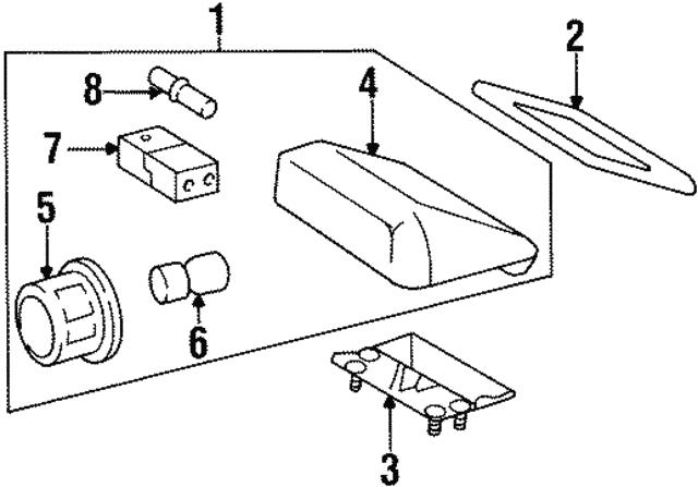 1992-1999 Mercedes-Benz High Mount Lamp Mount cket 140 ... on mercedes timing marks, chevrolet wiring diagram, honda wiring diagram, dayton wiring diagram, vw wiring diagram, mercedes speedometer, nissan wiring diagram, naza wiring diagram, international wiring diagram, mercedes electrical diagrams, freightliner wiring diagram, mercury wiring diagram, mercedes wiring color, dodge wiring diagram, mercedes wire color codes, taylor wiring diagram, mercedes-benz diagram, kia wiring diagram, toyota wiring diagram, mercedes firing order,