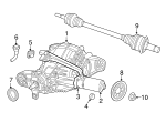 Axle Housing - Mopar (68184737AB)