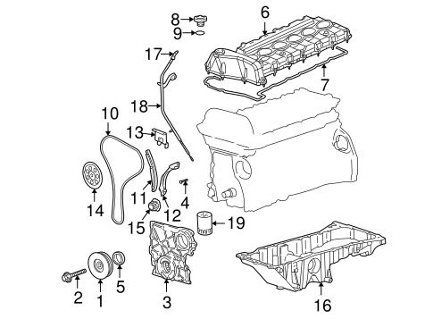 2006 buick rendezvous engine diagram engine parts for 2006 buick rainier | gmpartsoutlet.net