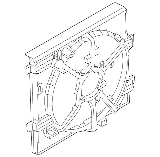 Walker Radiator Shroud