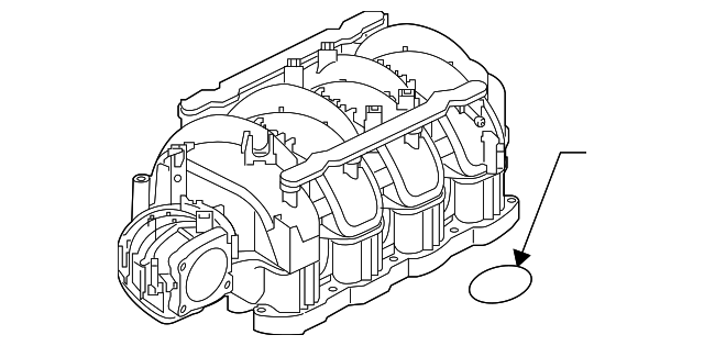 Genuine  Fuel Injection Throttle Body Mounting Gasket 161751la0a