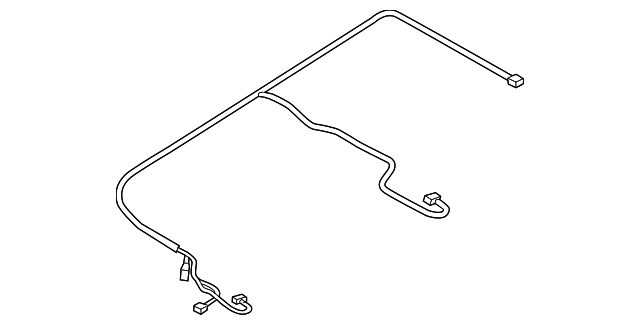 audi wire harness  4h4