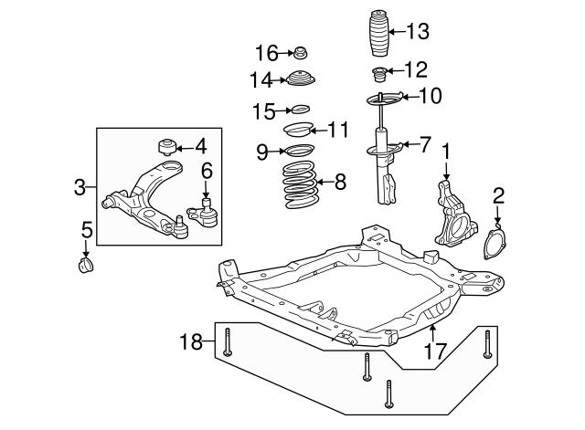 Lower Control Arm Rear Bushing