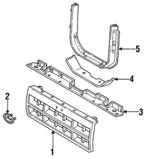 2x03o Step Step Instructions Replace Front further 95 Jeep Grand Cherokee Engine Diagram likewise How To Install Westin Brush Guard On 2009 Silverado in addition 4a6no Ford Explorer 4x4 Installed Market Radio besides Instrument Panel Scat. on ford ranger front grille