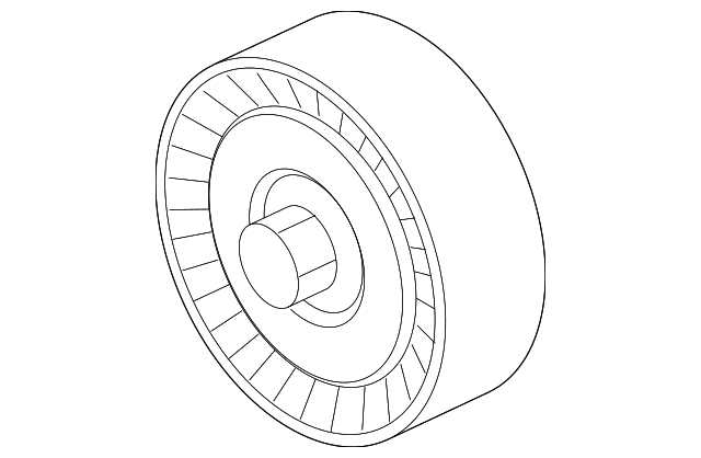 2015 2019 Ford Idler Pulley Ft4z 8678 A