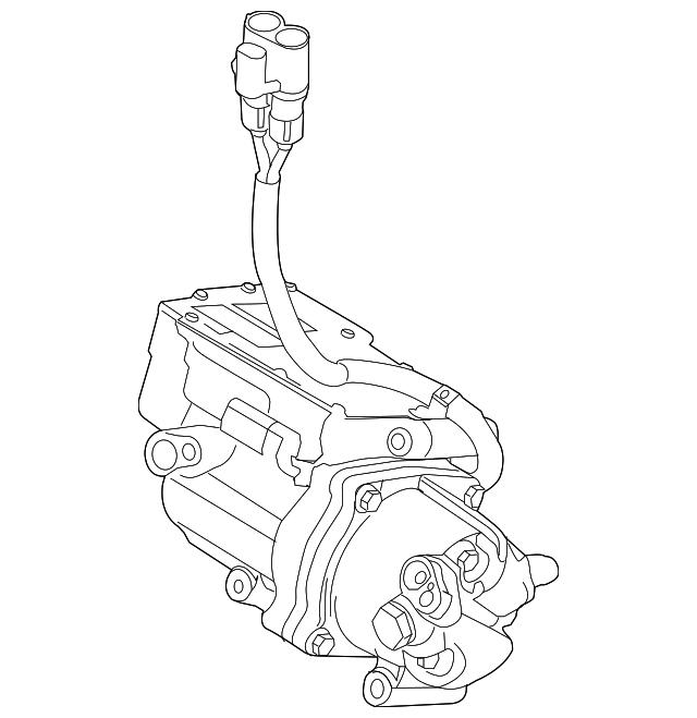 2010 2012 Ford Compressor Bm6z 19703 A