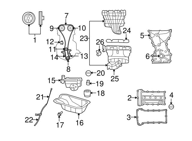 07-12 Jeep Dodge Chrysler Short Runner Intake Flow Control Valve OEM NEW MOPAR