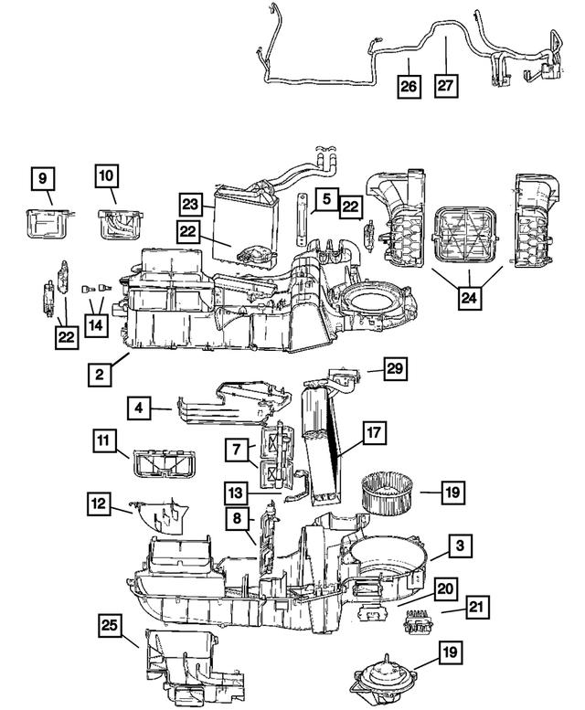 Mopar 5061575AA Blower Motor Resistor