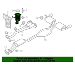 Catalytic Converter - Ford (BT4Z-5E212-C)