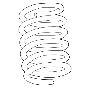 Coil Spring - Ford (AE5Z-5560-D)