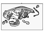 Headlamp Assembly - Nissan (26060-9UE5C)