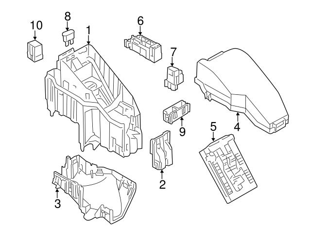 2009 Nissan Titan Fuse Box