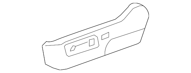 Toyota Genuine 72998-0C010-E0 Seat Cushion Cover