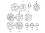 Wheel, Alloy - Subaru (28111FG171)