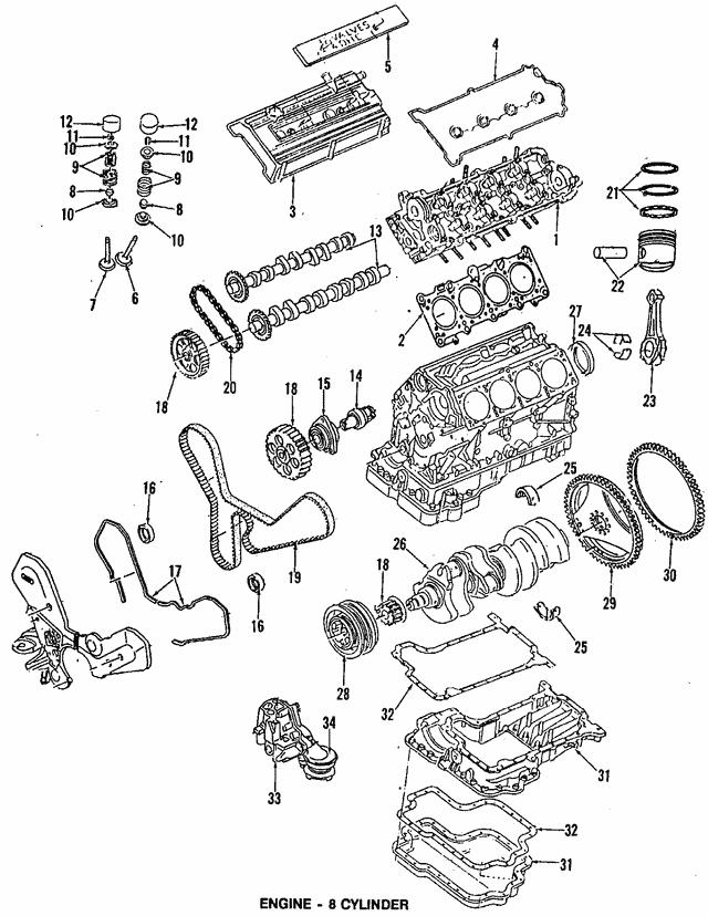 1990 1999 Audi Oil Pan Gasket 077 103 609 E