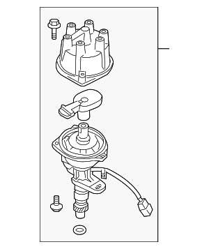 Distributor Assembly - Nissan (22100-1W601RE)