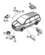GRAND CARAVAN TOWN /& COUNTRY RAM C//V ENGINE AIR CLEANER INTAKE DUCT HOSE MOPAR