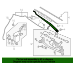 Wiper Arm - Nissan (28886-3AN1A)