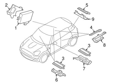 Electrical Components For 2008 Mini Cooper