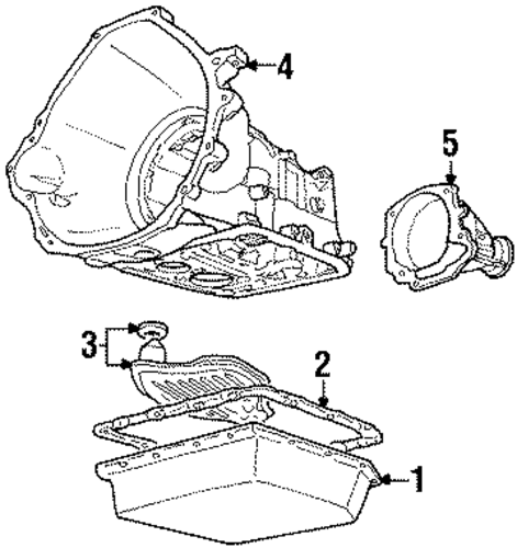 Automatic Transmission For 1993 Ford Crown Victoria