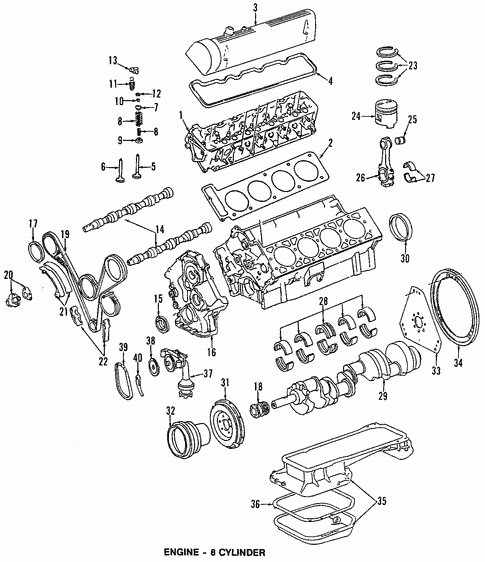 Engine Parts for 1988 Mercedes-Benz 560 SL #0