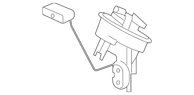 Fuel Gauge Sending Unit Mercedes Benz 209 470 13 94
