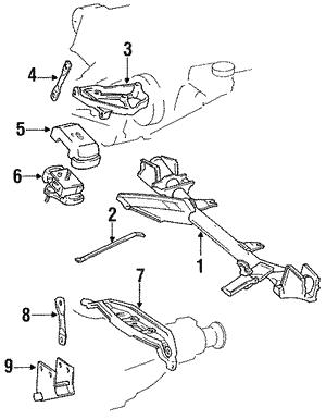 Toyota 69077-95D00-E2 Door Lock Control Knob Sub Assembly