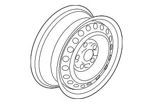 2014 2015 honda civic coupe disk wheel 16x6 1 2j topy 42700 ts8 2014 ILX Coupe disk wheel 16x6 1 2j topy honda 42700 ts8 a01